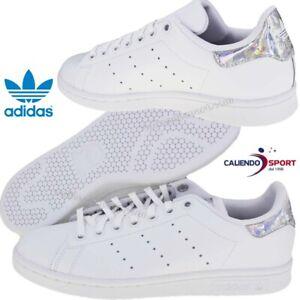 adidas donna scarpe stan smith argento