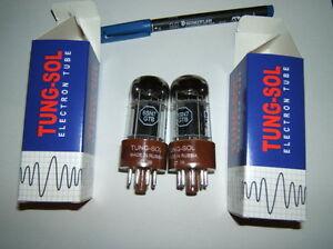 Roehren-6SN7-GTB-Tungsol-super-6SN7-neu-gem-Paar-f-chin-US-Vers