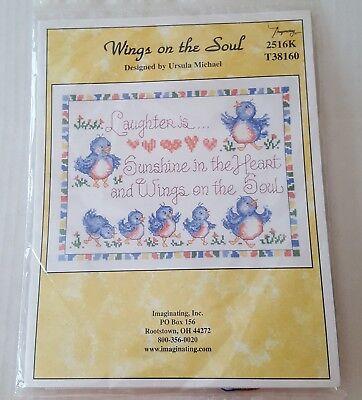 Music wings Cross Stitch Chart By Ursula Michael