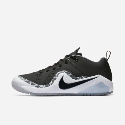 New Nike Force Zoom Trout 4 Turf Men's shoes Sz 12 Black Grey 917838 011