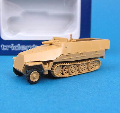 Trident H0 90092 SdKfz 251/9 D Kanonen-Panzerwagen EDW WWII Wehrmacht HO 1:87