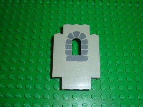 Set 6080 10000 6081 6073 6067 ... Mur LEGO CHATEAU CASTLE OldGray wall 4444p01