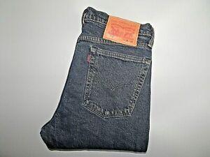 Levis-510-Jeans-Stretch-Denim-Skinny-Fit-Taglia-W30-L34-vita-30-034-Gamba-34-034-NUOVO