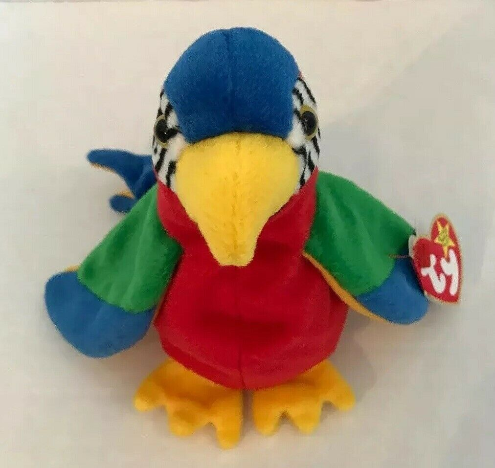 TY Beanie Baby Jabber the Parred 1997 Rare Retired Vintage & Collectable
