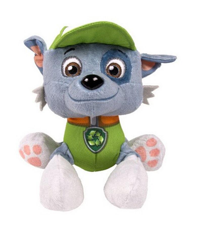 "Paw Patrol Pup Pals 8"" Skye Zuma Rocky Marshall Kids Gift Soft Plush Toy Dog 9"