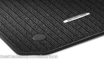 Mercedes Benz Original Satz Rips Fussmatten S Klasse W 221 Schwarz Neu OVP
