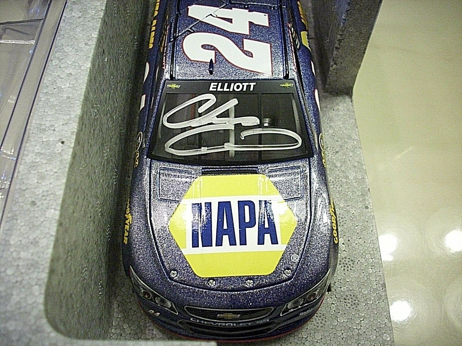 2016 ARC 1 24 CHASE ELLIOTT NAPA  ROOKIE  SIGNED  GALAXY COLOR ARC  1 OF 50 MADE