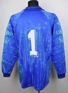 ADIDAS-D9-10-GB-48-50-XL-2XL-Goalkeeper-Jersey-1-Football-Shirt-Goalie-Vtg-Top