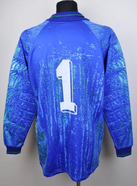 ADIDAS D9/10 GB 48/50 XL/2XL Goalkeeper Jersey #1 Football Shirt  Goalie Vtg Top
