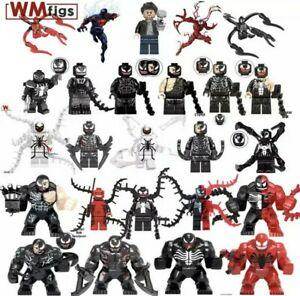 Anti-venom Venom CARNAGE Marvel Avengers Building Blocks Eroi Figurine