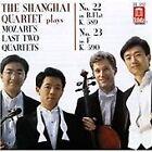 Wolfgang Amadeus Mozart - Shanghai Quartet Plays Mozart's Last Two Quartets - No. 22 K 589, No. 23 K. 590 (1996)