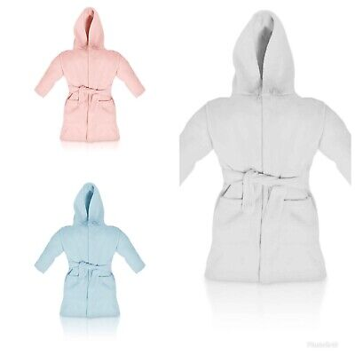 Alert Personalised Dressing Gowns 6 Months To 3 Years Promote The Production Of Body Fluid And Saliva