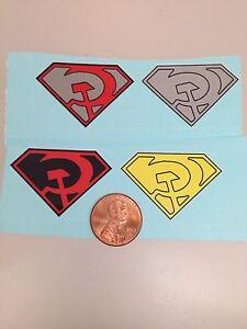Superman-Red-Son-Decals-Die-Cut-Revell-Aurora-Mego
