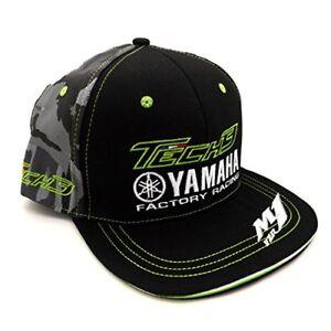 Official-Tech-3-Yamaha-Visiera-Piatta-Mimetico-Capellino-da-Baseball-17T3YAM