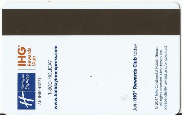 Bellissimo Europa-hotel Intercontinental Hotels Group Carta – Stanza Chiave-usato-al Hotels Group Hotel Card – Room Key - Used Ricambio Senza Costi A Qualsiasi Costo