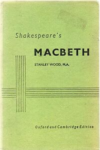 Macbeth by William Shakespeare notes by Stanley Wood Hardback - <span itemprop=availableAtOrFrom>Machynlleth, Powys, United Kingdom</span> - I do try to list all items as accurately as possible and am dedicated to superior customer service. If for any reason you are not 100% satisfied with your purchase, please let  - Machynlleth, Powys, United Kingdom