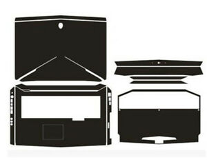 2-pack Palmrest Decal Sticker for Dell alienware area 51m 17.3 released in 2018