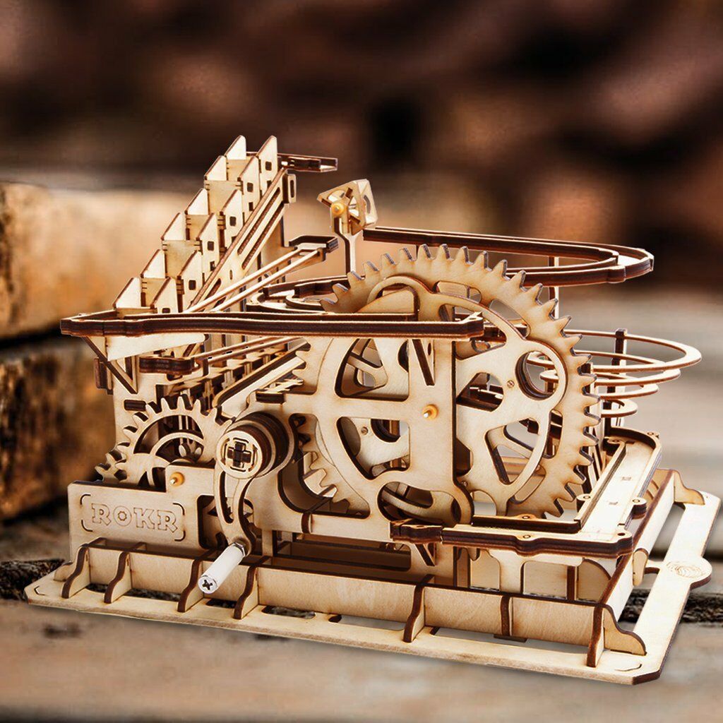 3D Wooden puzzle, Marble Run, adult puzzle