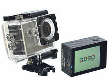 GOSO Waterproof Sport Action Camera WiFi HD 1080P 12MP 170 Angle & 2.0 inch LCD
