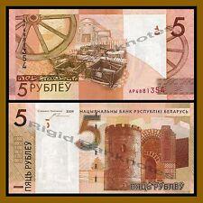 Belarus 5 Rubles (Rublei), 2009 (2016) P-New Unc