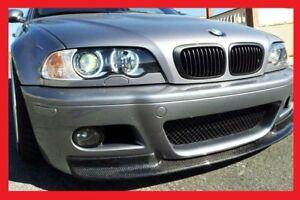 BMW-E46-M3-FRONT-SKIRT-SPOILER-LIP-SPLITTER-CSL-look-NEW-NEW