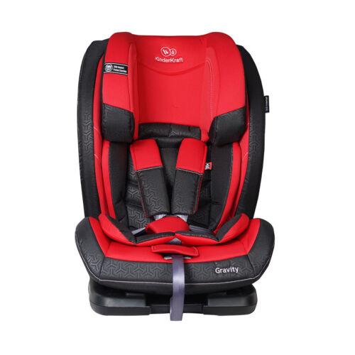 Kindersitz Autositz Kinderautositz Kinderkraft Gravity rot 9-36 KG Gruppe 123