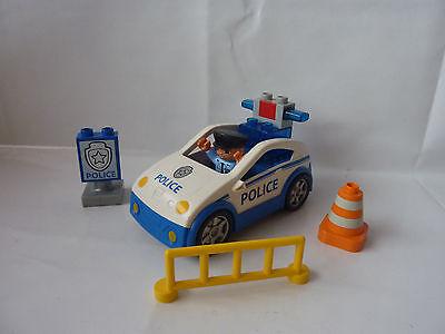 Streife aus Set 4963 LEGO Duplo Polizei Auto TOP! Polizeiauto mit Sound