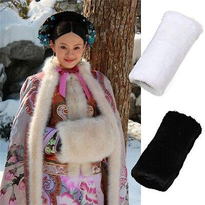 Der Winter-Luxuxfaux-Kaninchen-Pelz-schicke Art-Muff-Handwärmer der Frauen
