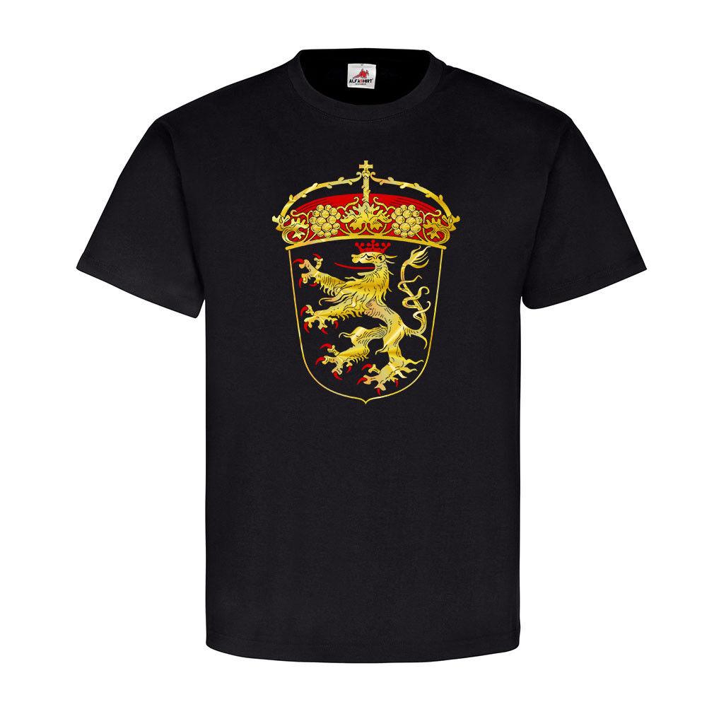 Altes Pfälzer Wappen Pfalz RP Löwe Abzeichen Emblem Heimat - T Shirt