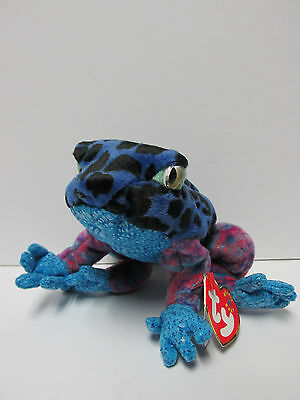 Dart The Frog 2001 Retired Beanie Baby Brand New Mint Tag