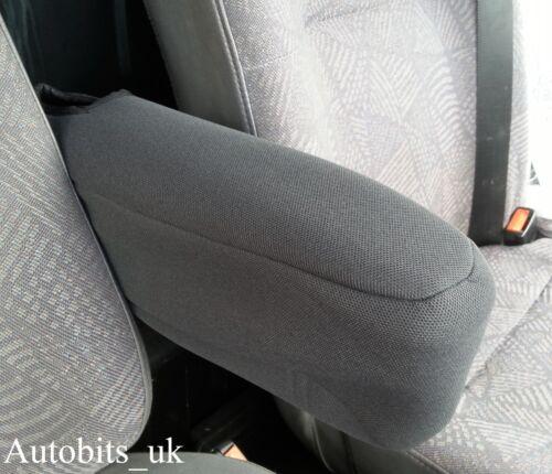 Schwarz Premium Stoff Armlehne Abdeckung Für Opel Vivaro Sportlich 01-14