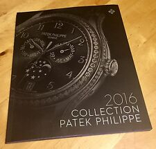 PATEK PHILIPPE 2016 Collection Catalogue Grand Complications Calatrava Aquanaut