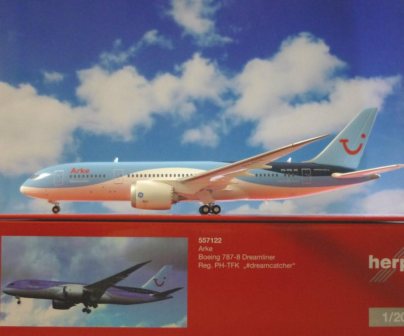 Herpa Wings 1 200 Boeing 787-8 Dreamliner wfä wfä wfä PH-TFK 557122 e1c347