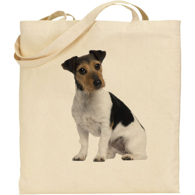 Father Christmas Gift Present JACK RUSSELL TERRIER DOG SANTA CLAUS BAG