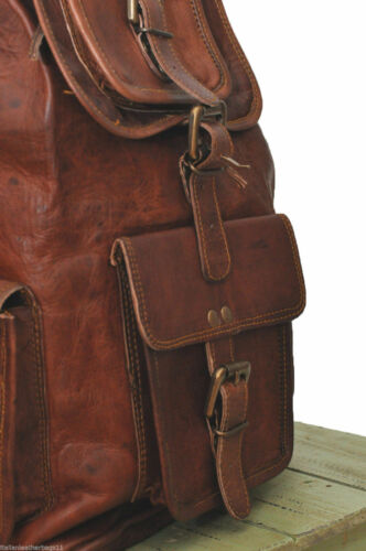 Daypack College Book bag Laptop Bag Women Leather Backpack Purse Fashion Causal