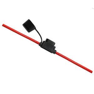 6-0mm-Standard-KFZ-4mm-Flachsicherungshalter-inkl-Kabel