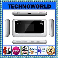 UNLOCKED ZTE MF910 4G WIFI MODEM+DUAL EXTERNAL ANTENNA PORT+3G+4G+WIFI HOTSPOT