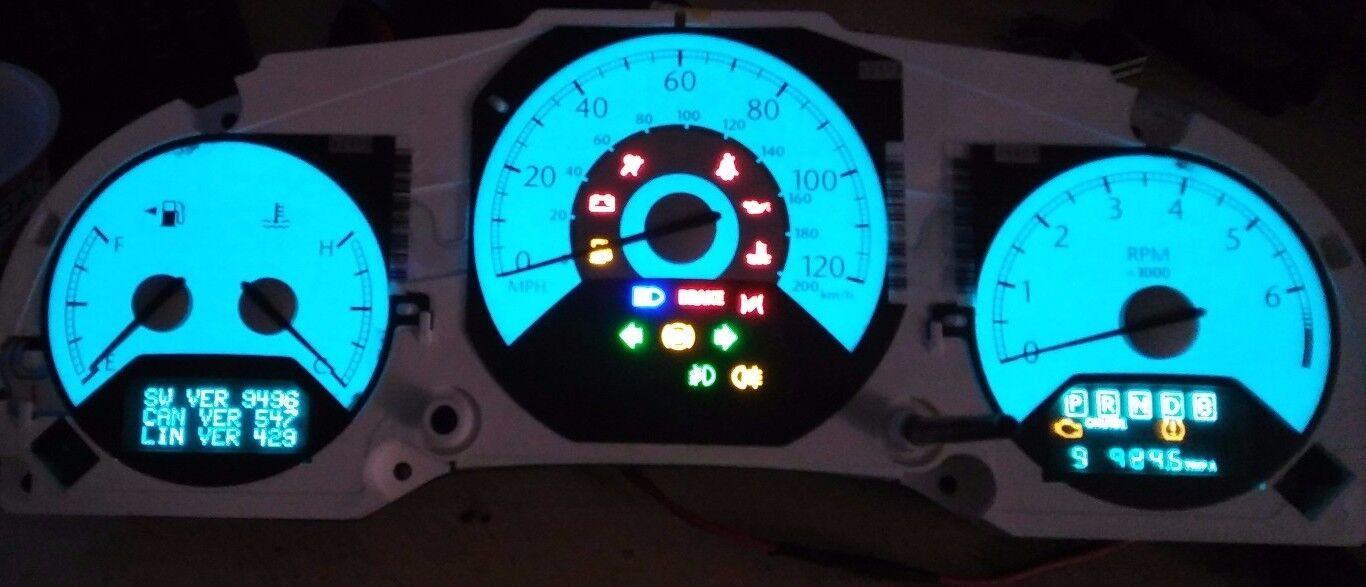 CHRYSLER SEBRING C300 INSTRUMENT CLUSTER LIGHTING REPAIR SERVICE 1997 TO 2004