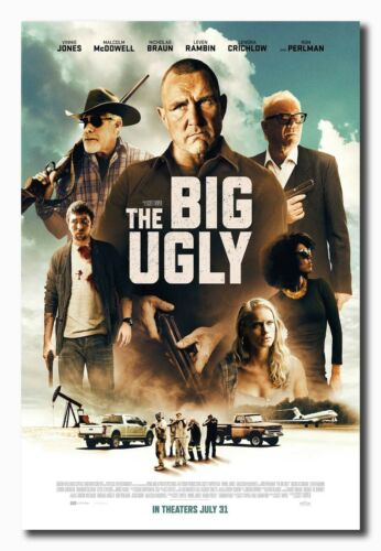The Big Ugly Movie 2020 Poster 32x48 14x21 24x36 Fabric Art E-619