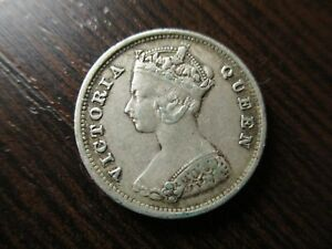 CHINA-HONG-KONG-VICTORIA-10-CENTS-1891-PLATA-MBC