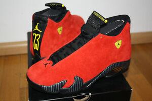 Air Jordan Xiv 14 Ferrari Ultra Rar Gr 40 5 Us 7 5 Neu Ungetragen Ebay