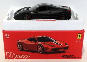 Burago Miniatures 1 / 18ème 18-16903b - Ferrari 458 Spéciale Noir
