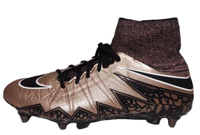 quality design 4c2fa a2f5b Nike Hypervenom Phantom II SG Pro Soccer Cleats Bronze Black Sz 8.5  747489-904