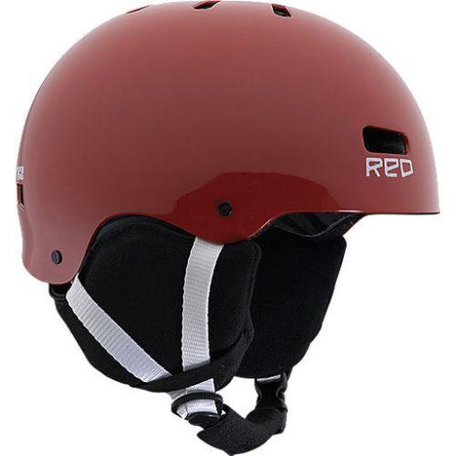 Burton Red Spur Grom Jugend Snowboardhelm (M) red