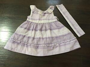 Baby Girl 9 12 M Birthday Party Lavender Dress Ebay
