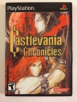 Castlevania Chronicles - Playstation - Replacement Case - No Game