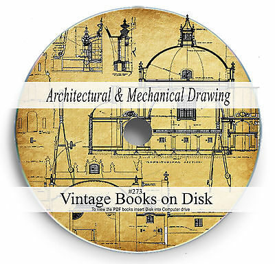 Architectural Mechanical Drawing Rare Books On Dvd Design Engineering Home 273 Ebay