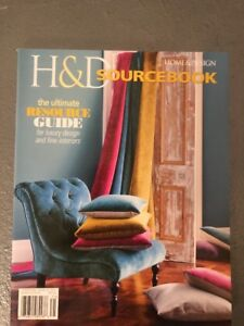 Sincere Home & Design H & D Sourcebook 2017 The Ultimate Resource Guide For Luxury Des Modern And Elegant In Fashion Other Antique Decorative Arts Antiques