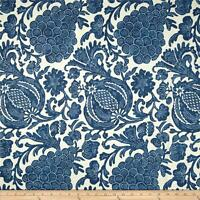 "P Kaufmann Fabric 100% Cotton Duck Fabric Batik Indigo 54"" Wide Sold By The Yard"
