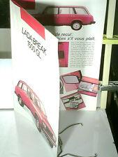 RARE CATALOGUE 1988/ 1500 LADA GL COMBI BREAK (ex FIAT 124/125)